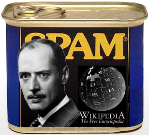 Banned at Wikipedia as SPAM: the works of Adrien Arcand