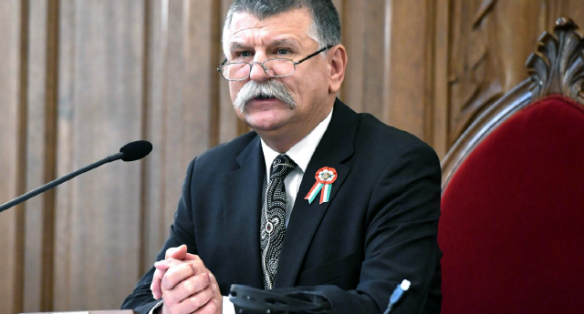László Kövér, Speaker of the National Assembly of Hungary, warns of anti-human global government (March 2018)
