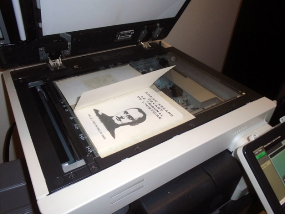 """<i>""""Scandale""""</i> on the scanning glass in the Quebec Archives, 16 January 2018"""