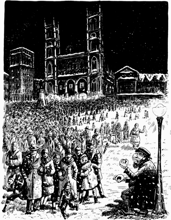Midnight Mass 19 Dec 1930