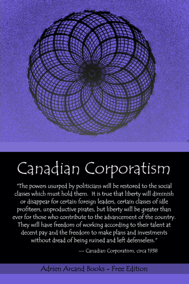Canadian Corporatism, National Unity Party of Canada