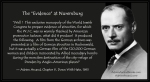 """The exclusive monopoly of the World Jewish Congress to prepare evidence at Nuremburg..."""