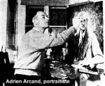 Adrien Arcand, portraitiste