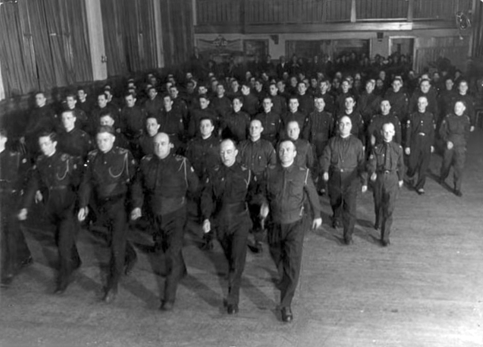"""""""I put my men into uniform and insisted they keep neat and clean and look smart..."""""""