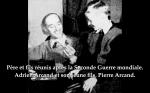 Père et fils réunis après la seconde guerre mondiale