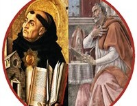 Saint Thomas Aquinas and Saint Augustine