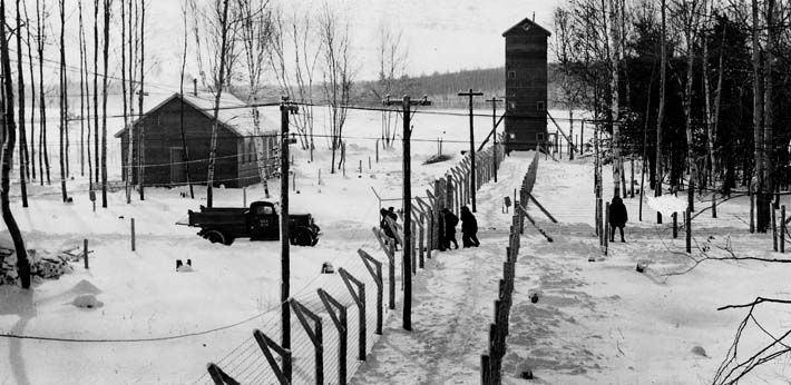 World War II. Petawawa Internment Camp.