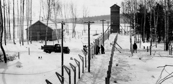 World War II.  Petawawa Internment Camp.