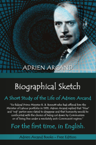 Biographical Sketch of Adrien Arcand (1983)