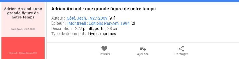 BAnQ - Adrien Arcand une grande figure de notre temps, jean cote 1994, Jean Côté