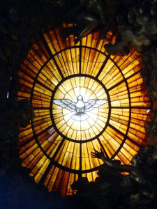 Dove of the Holy Spirit, St. Peter's Basilica, Vatican City, Rome