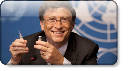 Bill Gates Vaccinate the World - Evil Incarnate for a Profit